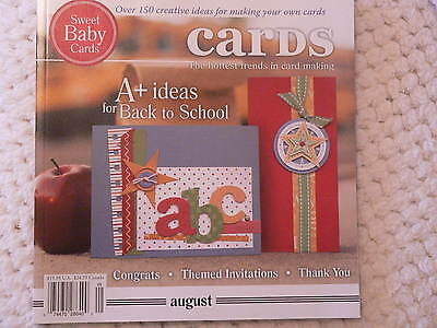 """""""CARDS"""" card making magizine book vol 2 issue 8"""