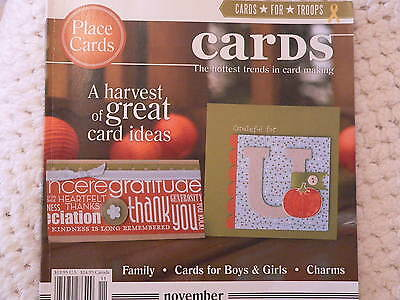 """""""CARDS"""" card making magizine book vol 2 issue 11"""