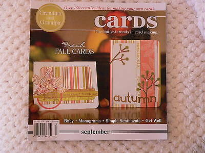 """""""CARDS"""" card making magizine book vol 3 issue 9"""