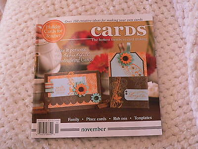 """""""CARDS"""" card making magizine book vol 3 issue 11"""
