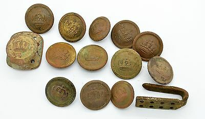 WW1 German Imperial buttons from uniform
