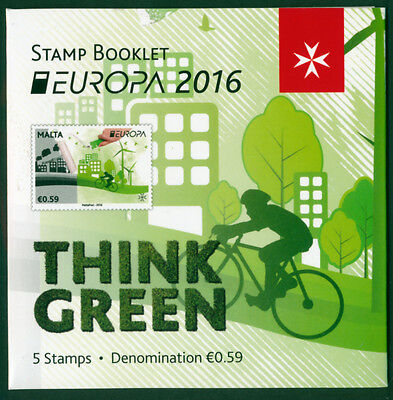 EUROPA CEPT 2016 BOOKLETS,  - each available to buy seperately