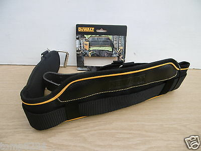 Dewalt Heavy Duty Padded Tool Belt + Metal Buckle  Dwst1-75651 + 6 Pencils