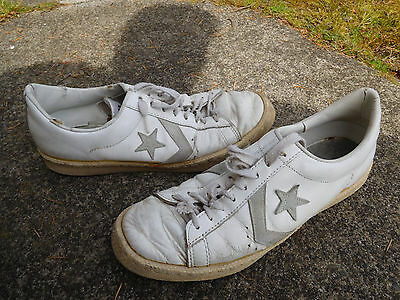 Vintage 70's Original Usa All Star Leather Converse Size 9.5