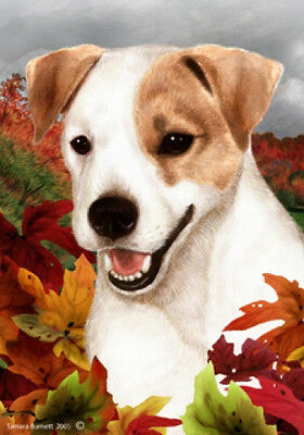 Large Indoor/Outdoor Fall Flag - Jack Russell Terrier 13024