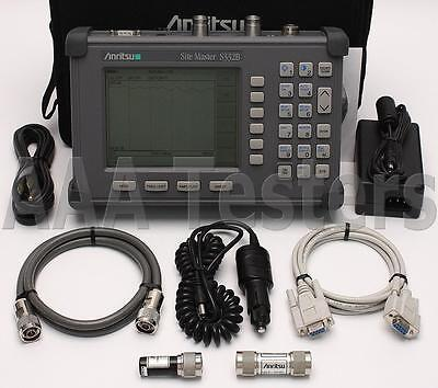 Anritsu Site Master S332B Cable Antenna / Spectrum Analyzer w/ Option 5
