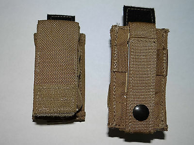 25x Eagle Industries 9MM M9 Magazine Pouch Kydex, MP1-M9/FB1-MS-COY, Coyote