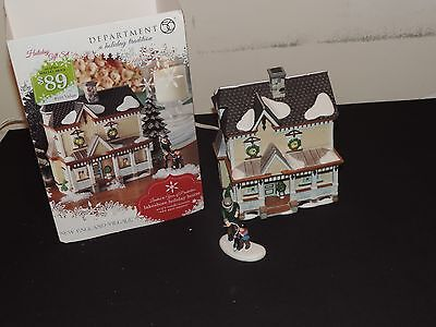Dept 56 Department 56 New England Village Lakeshore Holiday House Set of Two