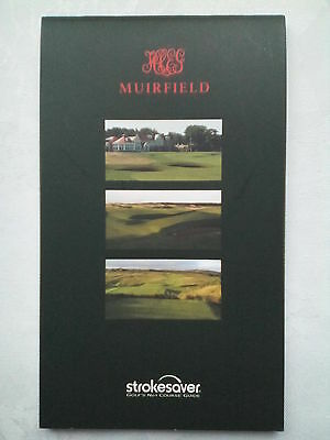 Muirfield,gullane Scotland,golf Course Guide + Score Card.2011.new.founded 1744