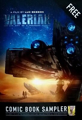 Valerian And The City Of A Thousand Planets - Comic Book Sampler - A Film By Luc