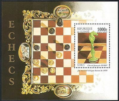 Guinea 1997 Chess Sets/Chessmen/Pieces/Carving/Craft/Sports/Games 1v m/s  n41758