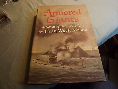 """Vintage Book """"Armored Giants A Novel of the Civil War"""" 1980 First Edition"""