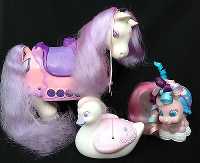 1980s Tonka Keypers-Diamond The Horse-Tapps the Ladybird and Baby Belle Swan.