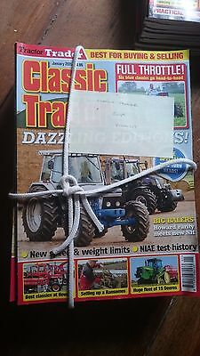 Classic Tractor Magazine. Complete 2015 Collection **12 Issues**