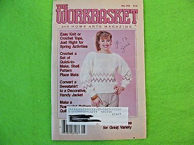 ** Vintage THE WORKBASKET and Home Arts Mag May 1988 CRAFT MAGAZINE  ISSUE