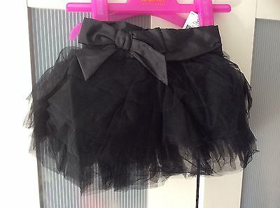 Size 1.5-2 Years Black Next Tutu BNWT