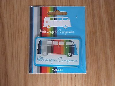 VW Striped Camper Van Fridge Magnet Officially Licensed by Volkswagen NEW