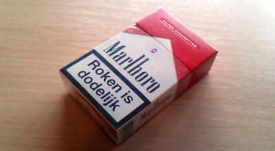 Marlboro Red Collectible Cigarette Packet, The Netherlands (no cigarettes)