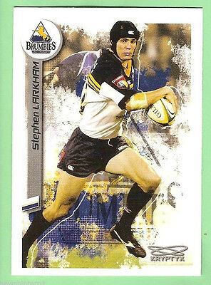 2003  Rugby Union Card #42  Stephen Larkham, Act Brumbies