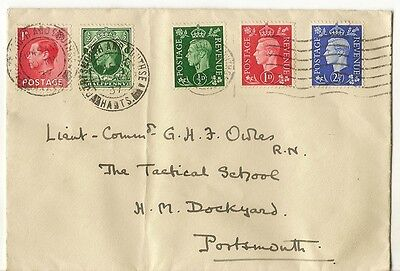 GB 10 May 1937 FDC 'Three Kings' Year