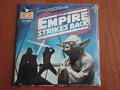 STAR WARS Empire Strikes Back READ ALONG Book And Record SEALED NEVER OPENED
