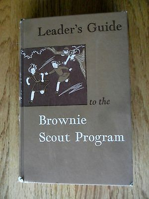 Leader's Guide to the Brownie Scout Program Girl Hardcover 1957 Edtn