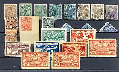 Paraguay  23  Stamps    Most */0    Most Vf