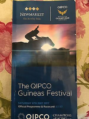 2017 2000 Guineas Newmarket  Race Card Churchill