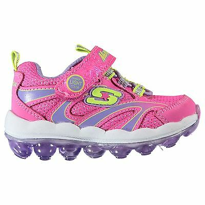 Skechers Kids Airlites Infant Girls Running Shoes Touch and Close