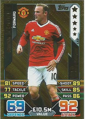 Match Attax 2015/16 Limited Edition Cards Pick What You Need Mint