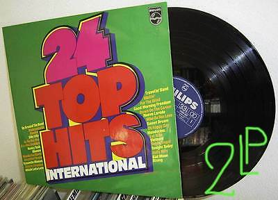 2LP V/A 24 TOP HITS INTERNATIONAL * PHILIPS GER 70's FOC * TOP nm