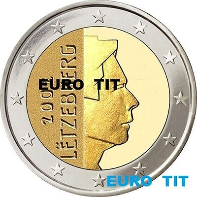 2 EURO    LUXEMBOURG    2003    PIECE    SUPERBE     LUXEMBOURG      disponible