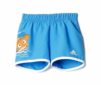 adidas Infant Boy's Disney Nemo Water Shorts Swimming Pool Holiday Water Blue