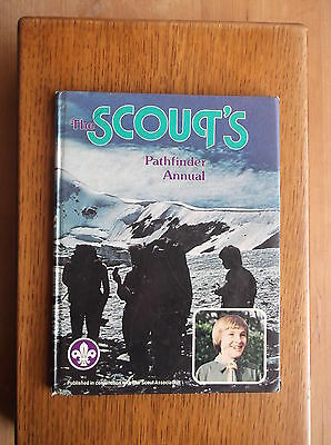 The Scout's Pathfinder Annual 1980 The New Forest Trek Cart Pelota Steam Trains