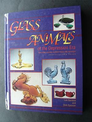 Glass Animals of the Depression Era Book Identifications and Values 1993