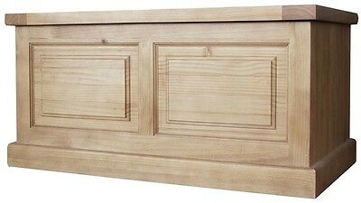 Bonsoni Cotsanjo Waxed Finish Blanket Box by Kaldors