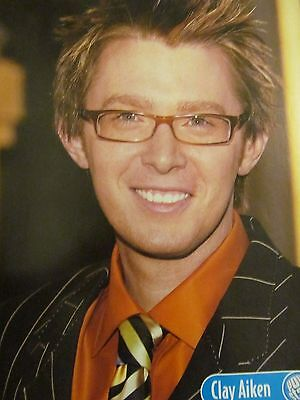 Clay Aiken, Chad Michael Murray, Double Full Page Pinup