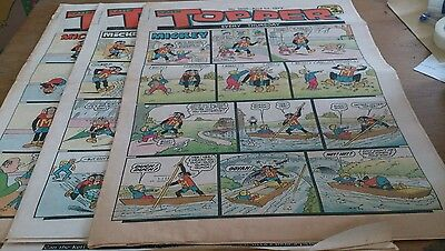 3 Topper Comics 1972, Inc Easter Edition