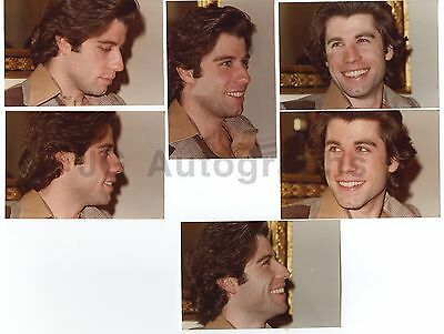 John Travolta - 6 Vintage Candids by Peter Warrack - Previously Unpublished
