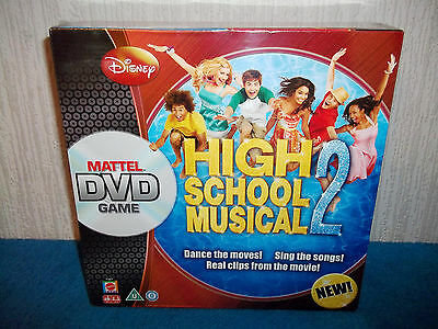 Disney - High School Musical 2 - Mattel Dvd Game - Sing The Songs! New & Sealed