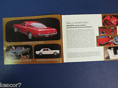 1965 Ford Full Line Sales Brochure C7029