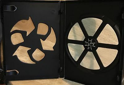50 14mm DVD / CD cases w/sleeve - Black - New - Free Shipping!!