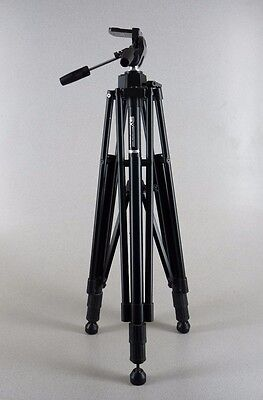 "Smith Victor Camera-Video Tripod w Pan Tilt Head 32"" - 72"" Free Shipping"
