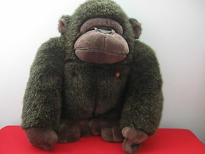 "1988 TSURUYA DOLL CO. LTD DAKIN gorilla KING KONG ape Thailand stuffed 16"" RARE"