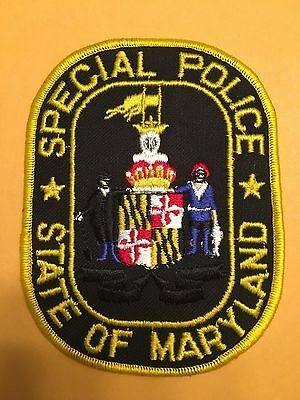 State Of Maryland  Police  Shoulder Patch