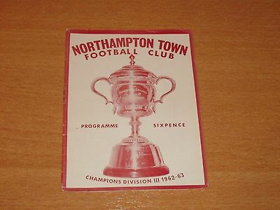 1963 - 1964 NORTHAMPTON v SOUTHAMPTON   # LEAGUE MATCH