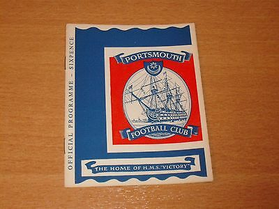 1964 - 1965 PORTSMOUTH v LEYTON ORIENT   # LEAGUE MATCH