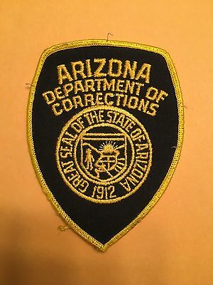 Arizona Department Of Corrections   Shoulder Patch