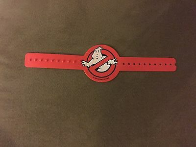 1984 Ghostbusters Movie Logo Bracelet Kenner New Old Stock RARE