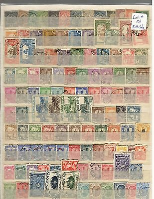 Tunisia 200+ different Colonial & Early Independant issues MH/used stamps